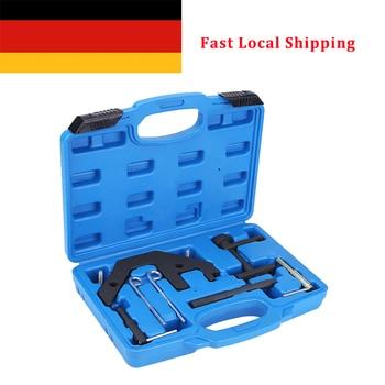 1 Set of 9pcs Car Auto Engine Timing Tool Camshaft Locking Setting for BMW M4 E46 E39 E38 Car Engine Timing/Locking Kit Set цена 2017
