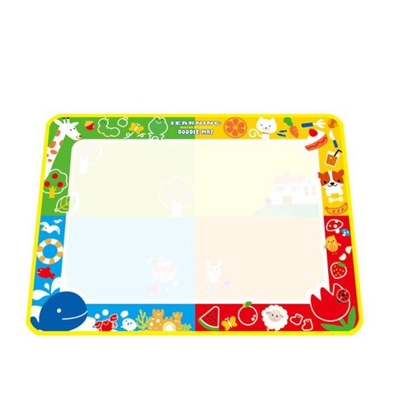 Мода 2016 года 100x73 см воды Рисунок Живопись Написание Коврики плате Magic Pen Doodle Новая игрушка подарок для маленьких детей