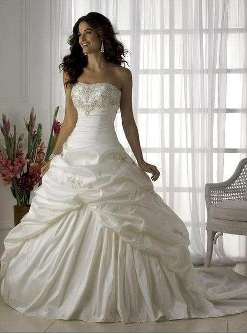 Modern Pure White Wedding Gowns Ideas - Best Evening Gown ...