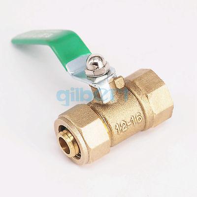 "20mm Pex-AL-Pex Tube x 3//4/"" BSP Male Brass Compression Ball Vave"