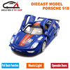 15cm 1 32 Diecast Porsche918SPYDER Model Kids Alloy Toys Metal Car With Pull Back Function Music