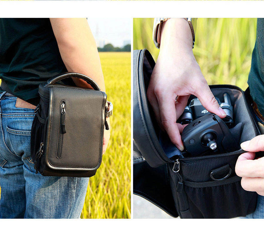 Single Shoulder Bag Drone Body Battery Controller Handbag Waist Bag for DJI MAVIC PRO