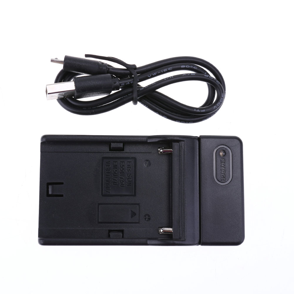 Camera Batteries charger DC 5V Power Supply Charging Dock for SONY Np-F550 F570 F750 F770 F960 F970 Camera Batteries