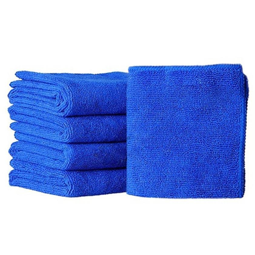 5Pcs 30*30cm Soft Microfiber Cleaning Towel Car Auto Wash Dry Clean Polish Cloth  Wax Car Care Styling Cleaning Microfibre H0420