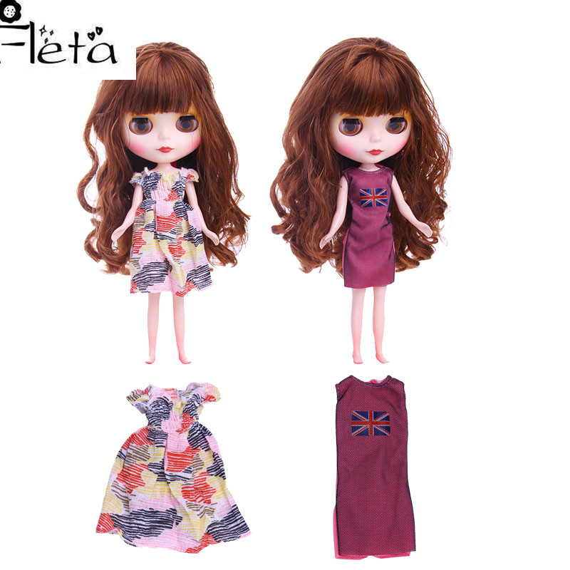 Blyth Doll Dress Best Premium Dress For Blyth Doll Clothes Toy Dress For BJD Doll 1/6 30 Cm Doll Generation,Girl's Toy Gift