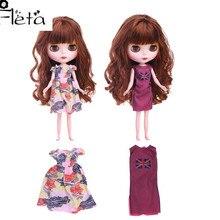 Blyth Doll Dress Best Premium Dress For Blyth Doll Clothes Toy Dress For BJD Doll 1/6 30 Cm Doll Generation,Girl's Toy Gift lovely dress for blyth doll clothes christmas gift toy dress for blyth doll 1 6 30cm doll