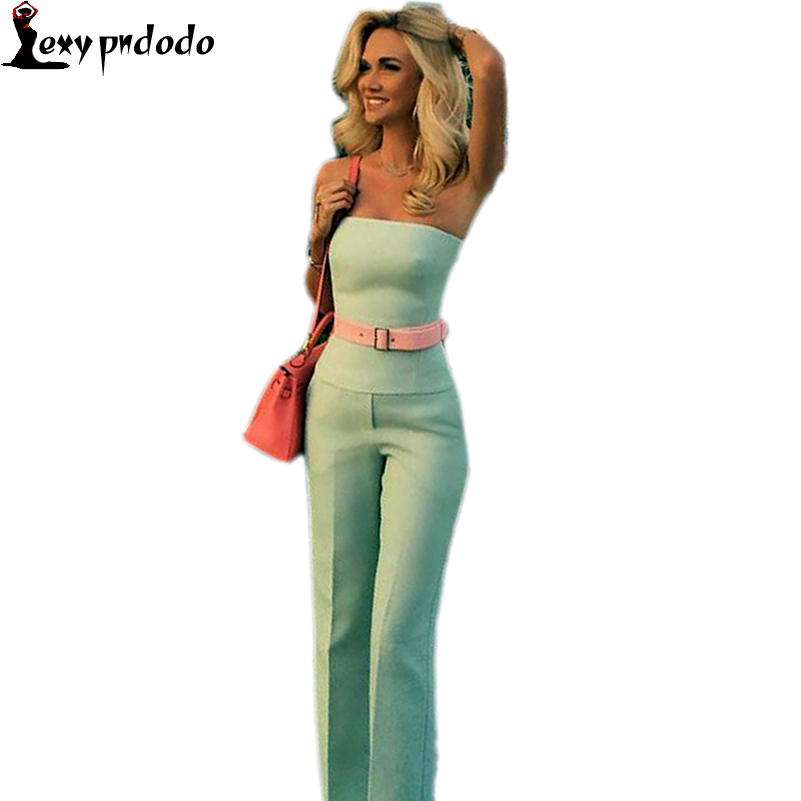Women Fashion Sexy Slash Neck Off Shoulder Jumpsuit Bodysuit Clubwear One Piece Romper Elegant Casual Party Jumpsuit Vestidos