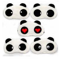 1PC Cute Panda Sleeping Face Eye Mask Blindfold Eyeshade Traveling Sleep Eye Aid Drop Shipping Travel Accessories Free Shipping Travel Accessories