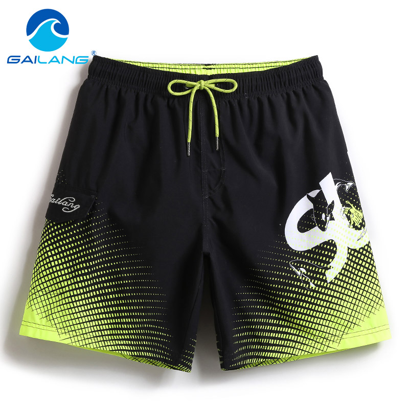 Gailang Brand Summer Quick Dry Mens Beach   Shorts   Mens   Shorts   Casual Swimwear Swimsuits Men's   Shorts   Hip Hop   Board     Shorts   Bermuda