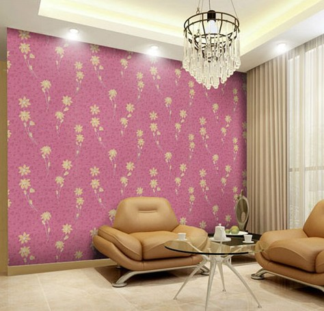 New fine fabric texture Wall of setting of the bedroom a study wallpaper of Europe type style Yulan wallpaper Fashion pavilion the conference of the birds a study of farid ud din attars poem using jali diwani calligraphy