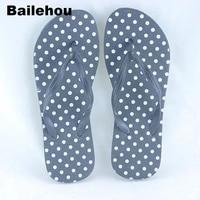 Bailehou Moda Mujeres Zapatillas de Playa Chanclas Sandalias Casuales Zapatos Planos de Deslizamiento En Las Diapositivas de Impresión Mujeres Inicio Zapatos Zapatillas Casa