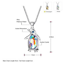 Neoglory Austrian Crystal Penguin Chokers – Maxi Long Fashion Necklaces & Pendants for Women – Best Friend Gift – Boho Jewelry 2017