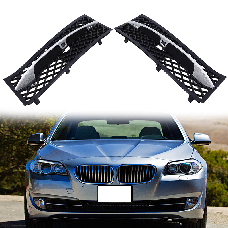 Left/Right Front Lower Bumper Grille For BMW 5 Series F10