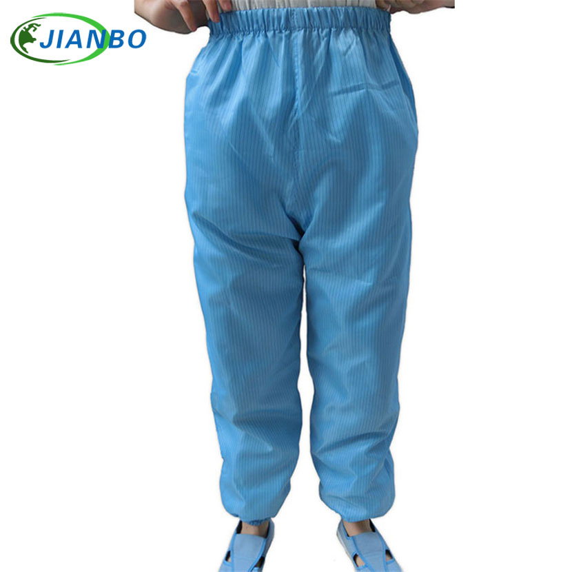 Anti static Protection Work Trousers Painting Food Cleanroom Workshop Laboratory Dustproof ESD labor Protective pants