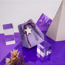 30pcs Personality Wedding gift box Dream purple favor boxes packaging paper bags for gifts baby shower flower box Party Supplies dream box