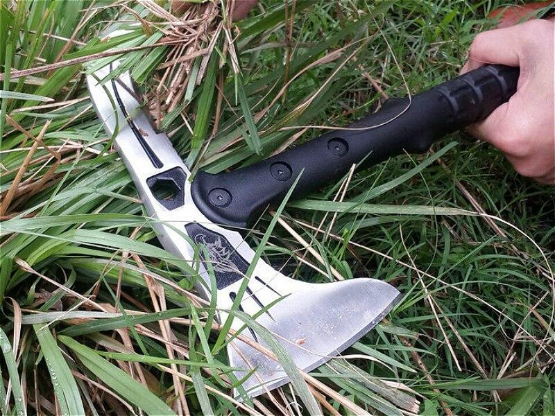 Pegasi Cs Sharp 57 Hrc 39 Cm Silber Adlerkopf Axt Feuerrettung Achsen Camping Outdoor Multifunktionale Axt Freier Tropfen Verschiffen Werkzeuge