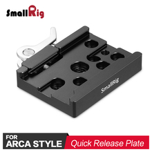 SmallRig Camera Quick Release Clamp ( Arca-type Compatible) for A7III L Plate 2122 / GH5 Bracket 2179 attach 2143