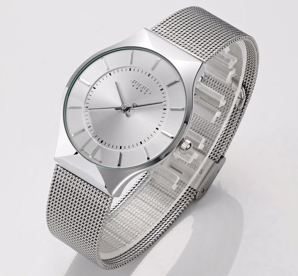 Julius Men Watch Stainless Steel Band Analog Display Quartz Wristwatch (18)