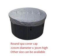 ROTONDA spa tappo di copertura del sacchetto 220 cm diametro x 30 cm alta L'altro Formato può essere disponibile