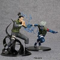 Naruto Action Figures Hatake Kakashi Nara Shikamaru Japanese Anime Figure Naruto Shippuden Movie Figure PVC Toys