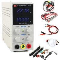 MCH 305DN Laboratory Regulated DC Power Supply 30V 5A 0.01V/0.001A Variable SMPS Single Channel +DC Jack Sets +Phone Test Line