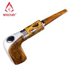 (Корабль из ru) ведьмак электронные сигареты новая Сталин 60 Вт e-трубы starter kit деревянный Дизайн e трубы электронный кальян VAPE ручка