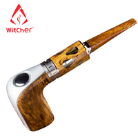 Clearance Sale Electronic Cigarette Stalin 40W E Pipe Starter kit Huge Vapor Wooden Design E pipe Vape Pen Electronic Hookah