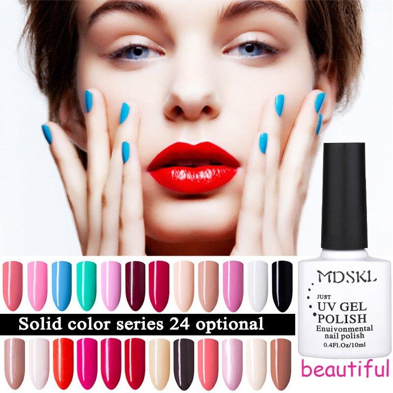 MDSKL 96 colores Gel UV de larga duración para el esmalte de uñas Soak off Art Gel Barniz Barniz Polish 10ML