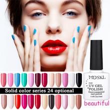Mdskl 96 цвета Стойкий цвет УФ гель для ногтей Soak Off искусства гель лак 10 мл