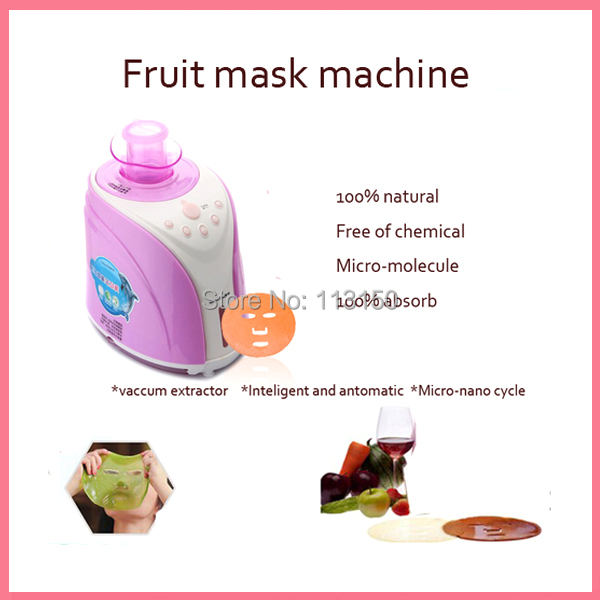 DHL Free shipping facial beauty care anti-aging whitening moistuized hydrating fruit and vegetable face mask maker machine neurobiology of epilepsy and aging 81