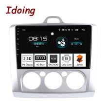 IDO 9 дюймов PX5 4G + 64G 8 ядро для Ford Focus Mondeo S-Max 2Din Car Android 8,0 радио видео gps плеер ноутбук с высокой скоростью работы и gps + GLONAS WI-FI