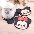 Mickey Mouse capa de silicone acessórios de cozinha mesa de jantar placemats coaster bebidas de café copo caneca bar placemats coaster mats pads