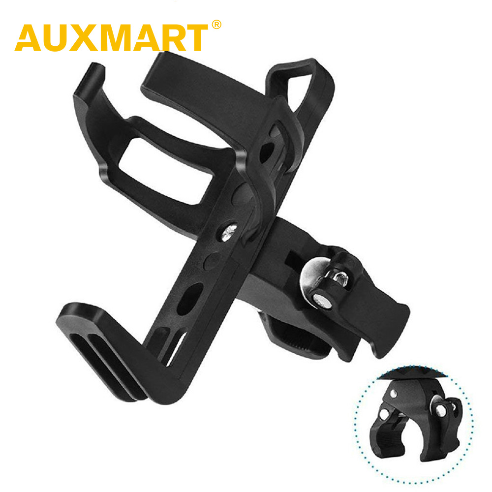 Adjustable Cycling Bicycle Handlebar Drink Water Bottle Cup Holder Mount Cage