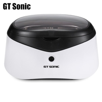 GT Sonic 0.6L Digital Ultrasonic Manicure Sterilizer Cleaner Sterilizing Nail Tools Disinfection Machine Wash Bath Tank hot sale
