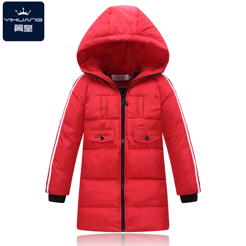 ФОТО Warm Girl's Boy's Winter down Jackets Newest baby boy's Coats thick duck Down brand Kids jacket Children Outerwears cold winter