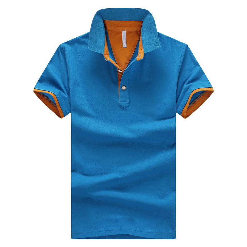 2a66a6636f1 New Summer Short Sleeved Big Size Polo Brand Clothing Cotton Casual Sale  Polo Shirt Men s Polo