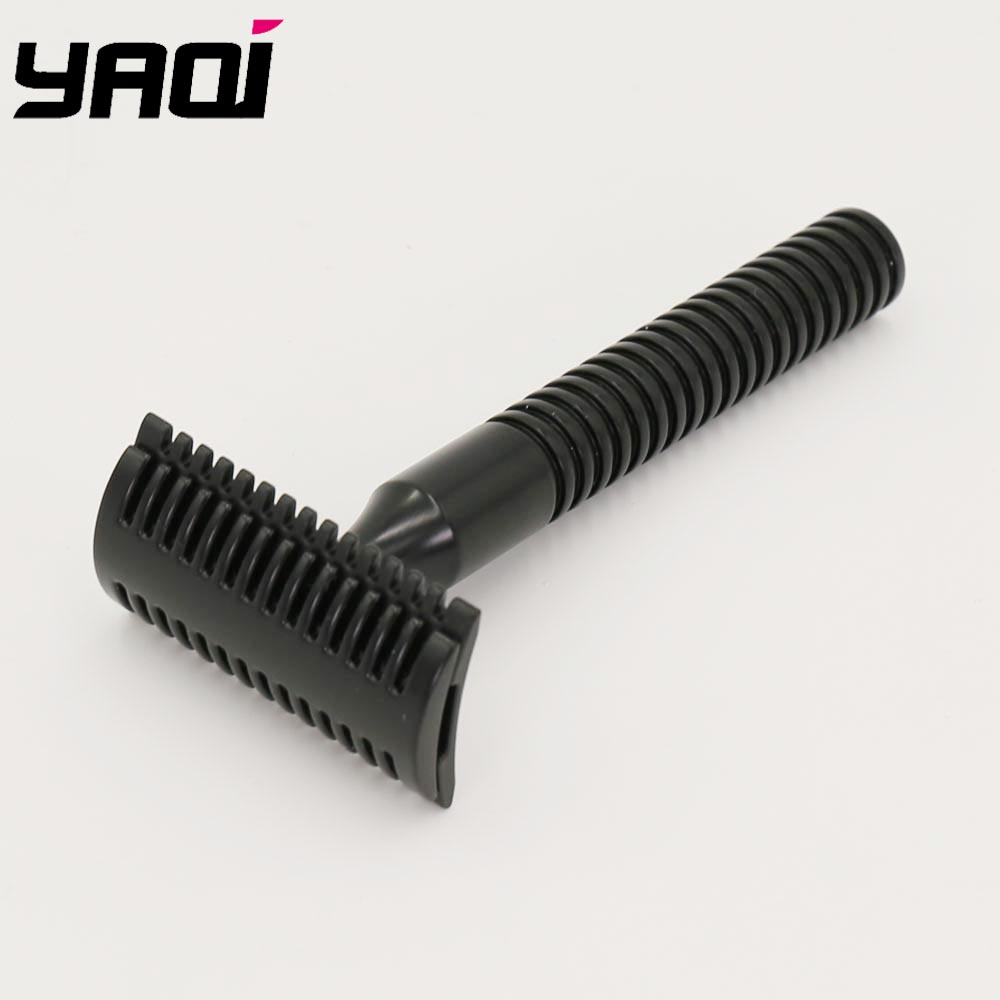Yaqi Matte Black Double Edge Safety Razor