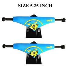 2PCS THEEVE Skateboard Trucks 5.25 inch  bracket for Pro Skateboard deck Skateboarding Trucks Accessories Caminhao Trucks Kaykay