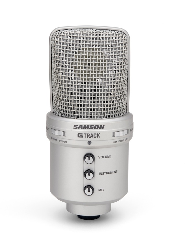 Original SAMSON G Track G Track USB Condenser Microphone with a built in audio interface and