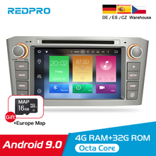 Android 9.0 9.1 Car Stereo For Toyota Avensis/T25 2003-2008 Car DVD Player 2 Din  PC Head 4G RAM Multimedia Video GPS Navigation 4gram android8 0 car dvd player gps navigation multimedia stereo for toyota avensis t25 2003 2008 auto radio audio headunit
