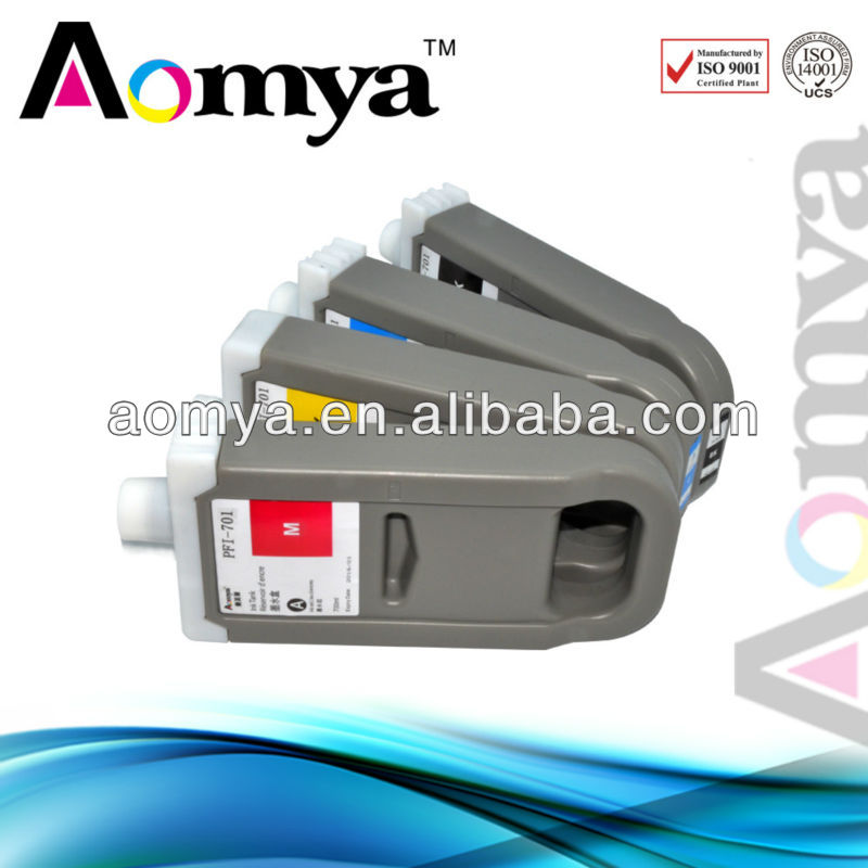 ФОТО pfi701 8 Color[DYE INK]Compatible ink cartridge wide format cartridge for Canon PFI-701 for Canon iPF8000s iPF9000s