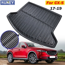 For Mazda CX 5 CX5 MK2 2017 2018 2019 2nd Gen Car Rear Boot Liner Trunk Cargo Mat Tray Floor Carpet Mud Pad Protector