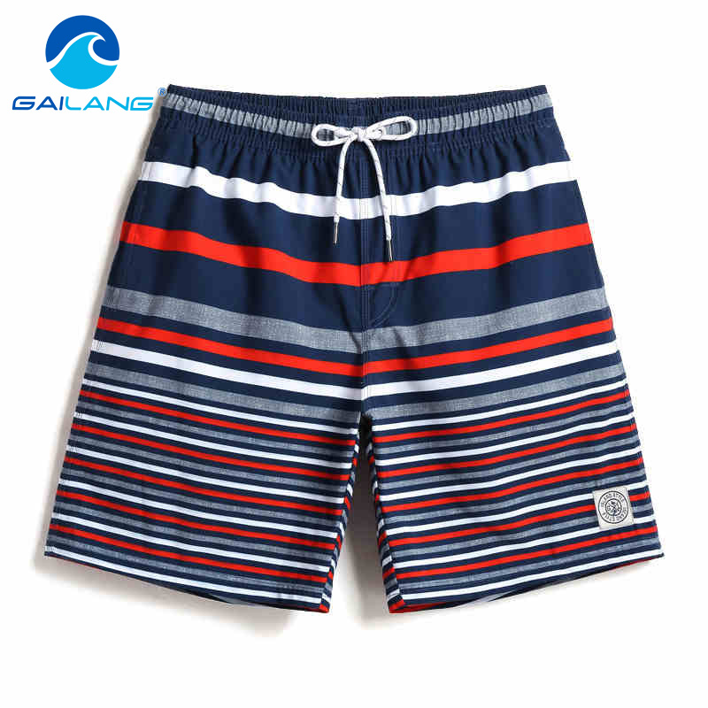 Gailang Brand Mens Shorts Boxer Trunks Men Beach Shorts Boardshorts Swimwear Swimsuits Man Board Shorts Casual Trunks Jogger