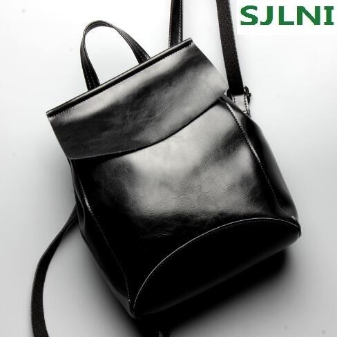 Designer Vintage Genuine Leather Women Backpack  Backpack For Girls Fashion Women Bags Best Gift School Bag for Teenager