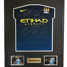 6bc86f85 Kun Aguero Samir Nasri signed autographed soccer shirt jersey come with Sa  coa framed Manchester City