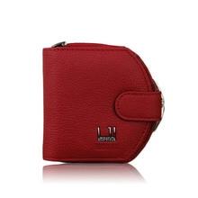Women Cowhide Wallet Zipper Leather Purse Coin Wallet Card Holder 2016 New