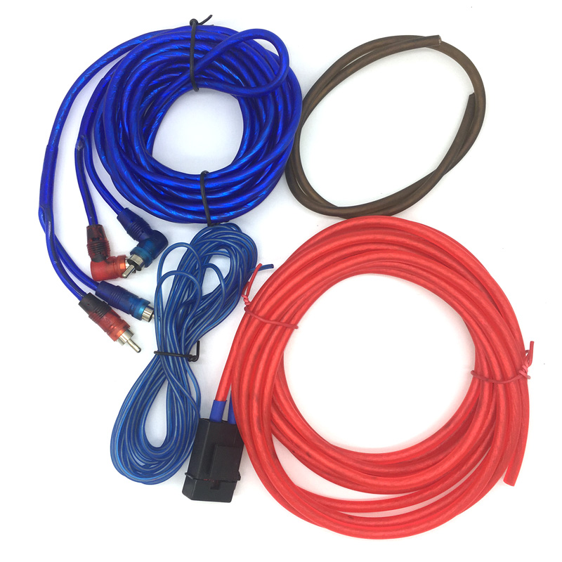 8ga car audio wire rca amplifier subwoofer cable speaker wire power cable fuse holder. Black Bedroom Furniture Sets. Home Design Ideas
