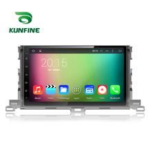 Quad Core 1024*600 Android 5.1 Car DVD GPS Navigation Player Car Stereo for Totota Highlander 2015 Radio 3G Wifi Bluetooth