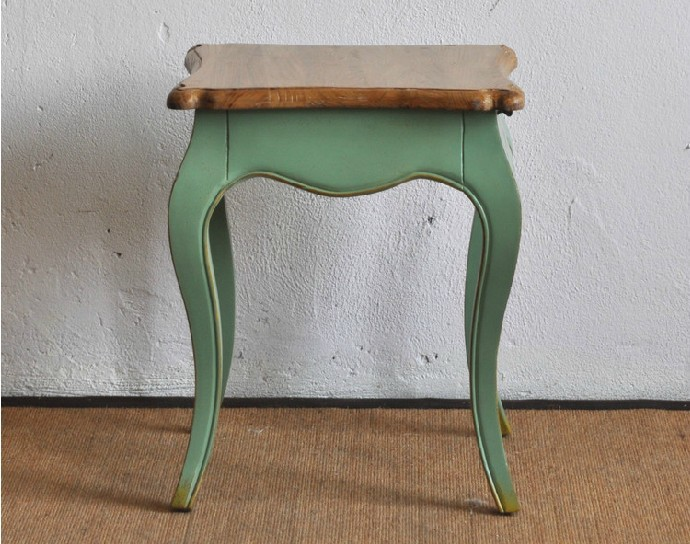 Good French Country Style Fruit Green Curved Legs Nightstand / A Pumping Small  Table In Laboratory Furniture From Furniture On Aliexpress.com | Alibaba  Group