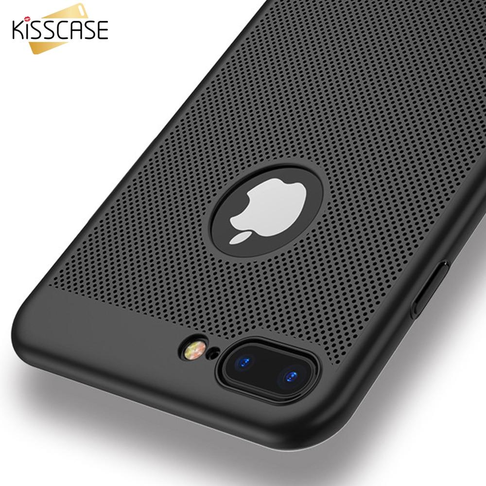 KISSCASE Suave de Nuevo Caso Para el iphone 7 5 5S SÍ 7 Plus Teléfono caso Respi